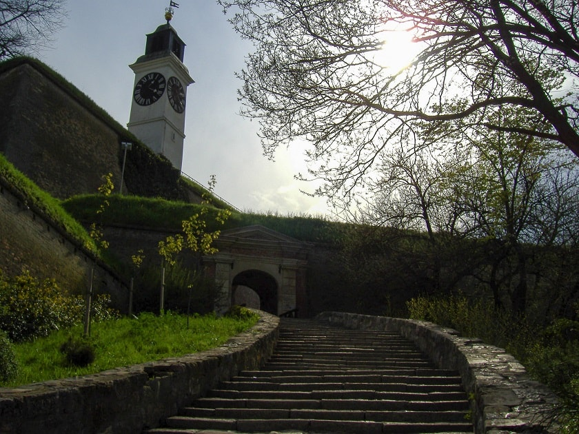 At Petrovaradin Fortress