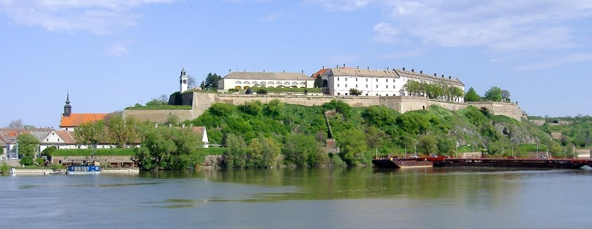 View of Petrovaradin Fortress from Novi Sad