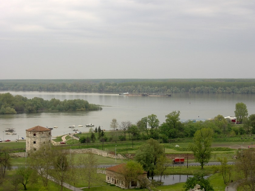 Where Sava meets Danube