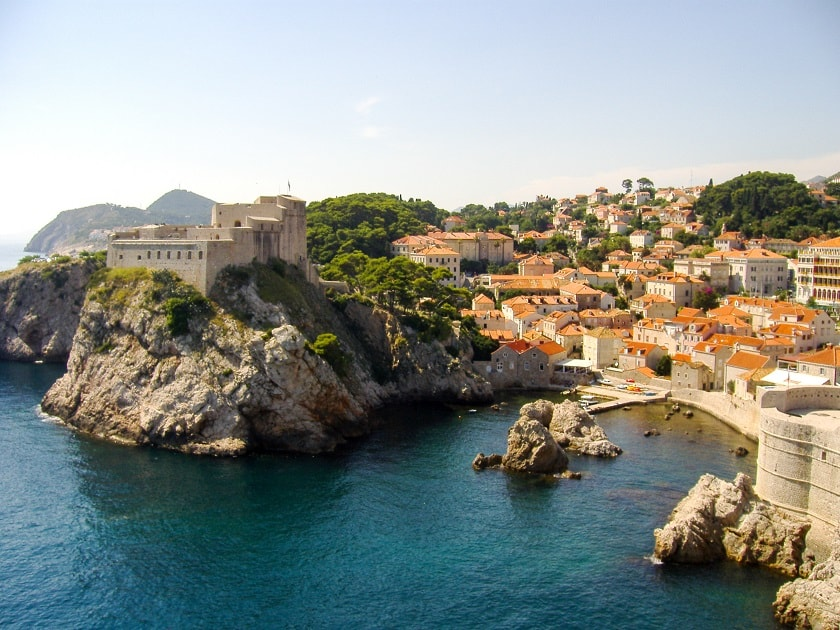 Cliffs of Dubrovnik