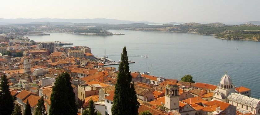 View of Sibenik