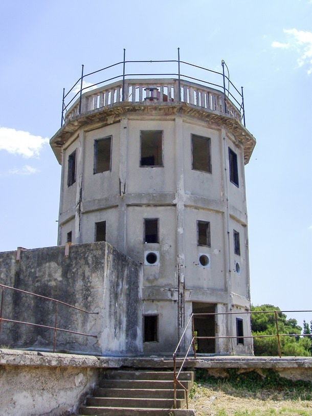 Fortress tower in Pula