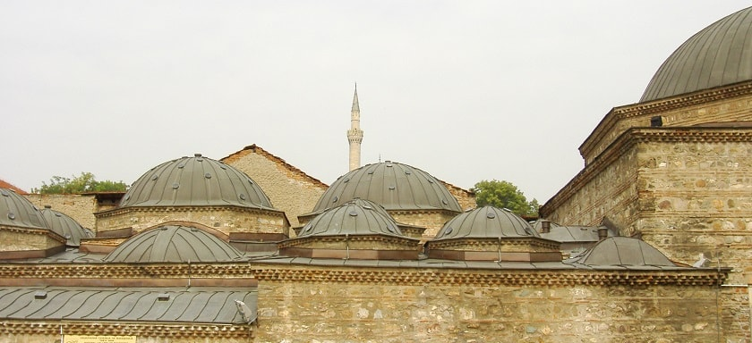 Domes of Chifte Hamam - National Art Gallery