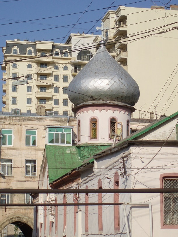 Russian Orthodox church in Baku