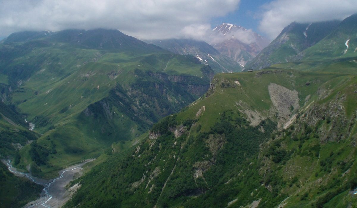 View of the Caucasus