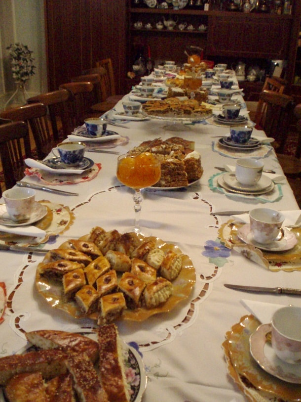 Table of delicacies