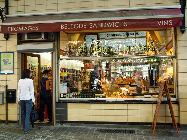 Fromagerie in Brussels
