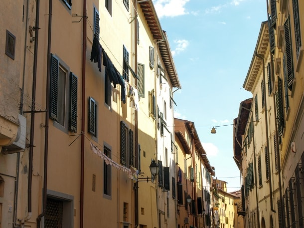 Houses at Via Giosuè Carducci