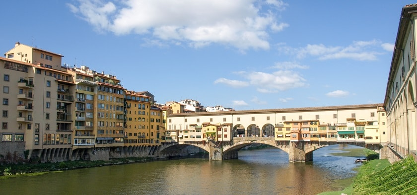 Ponte Vecchio seen from the East