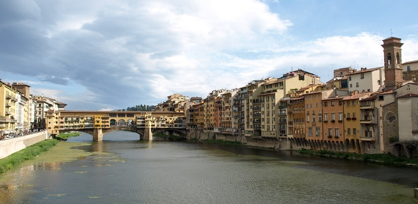 Ponte Vecchio seen from the West
