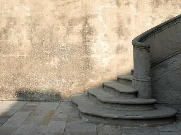 Stairs in Fiesole