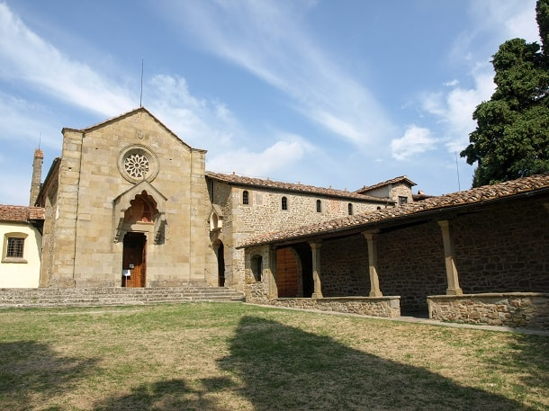 The church and convent of San Francesco