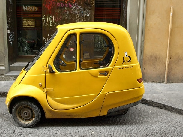 Tiny car in Florence
