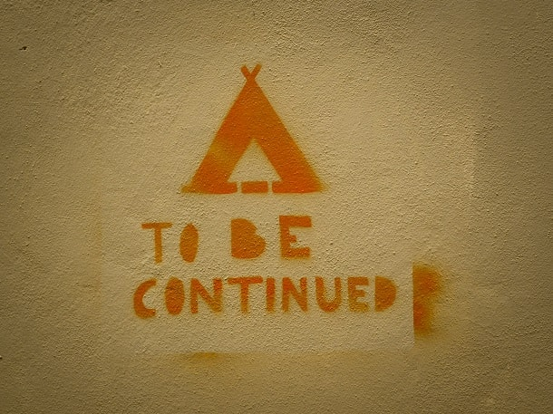 To be continued in Pisa