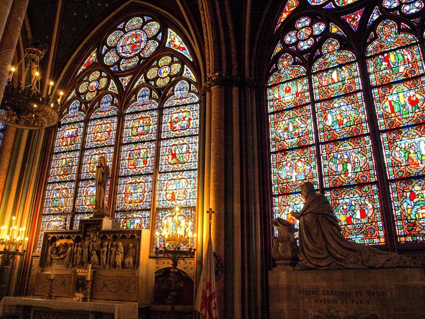 The windows of Nortre Dame