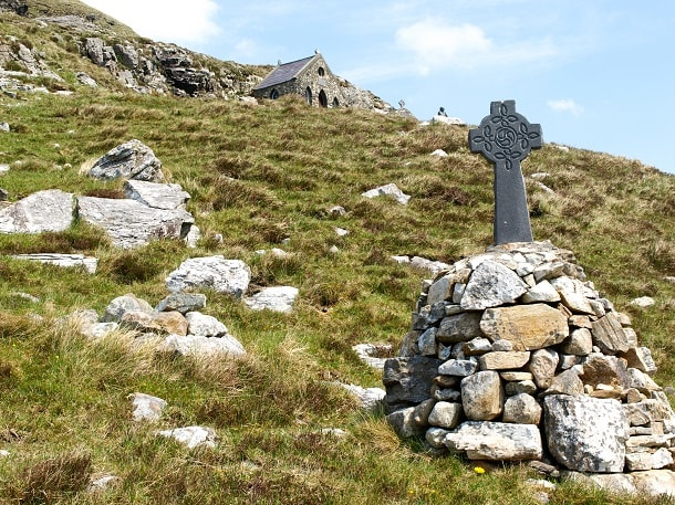 A Celtic Cross as part of Stations of the Cross
