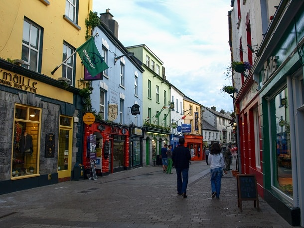High Street in Galway