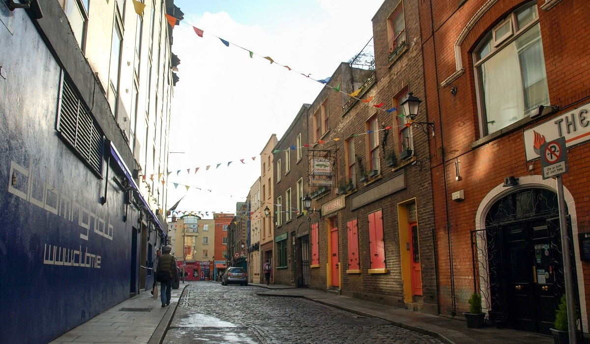 Street in Temple Bar
