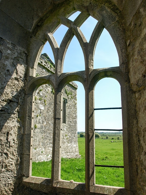 Window View from Ross Errilly Friary