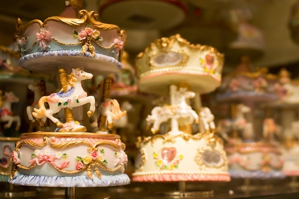 Miniature Carousels in Vienna