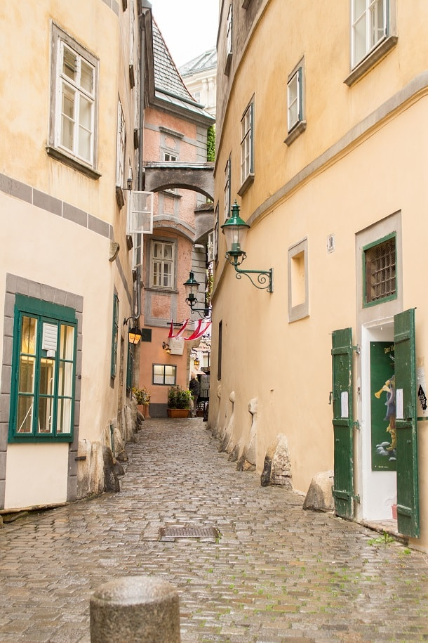 Narrow street in Inner Stadt
