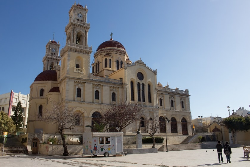 Agios Minas Cathedral in Heraklion