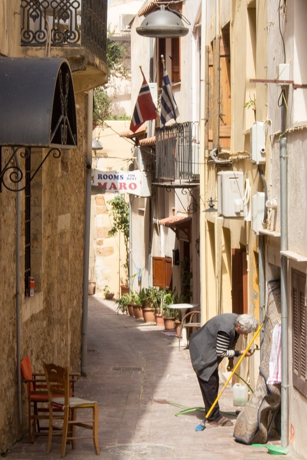Getting ready for the season in Chania