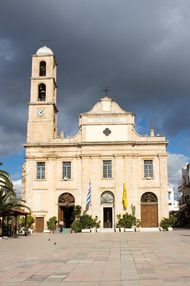 Trimartyri Cathedral in Chania