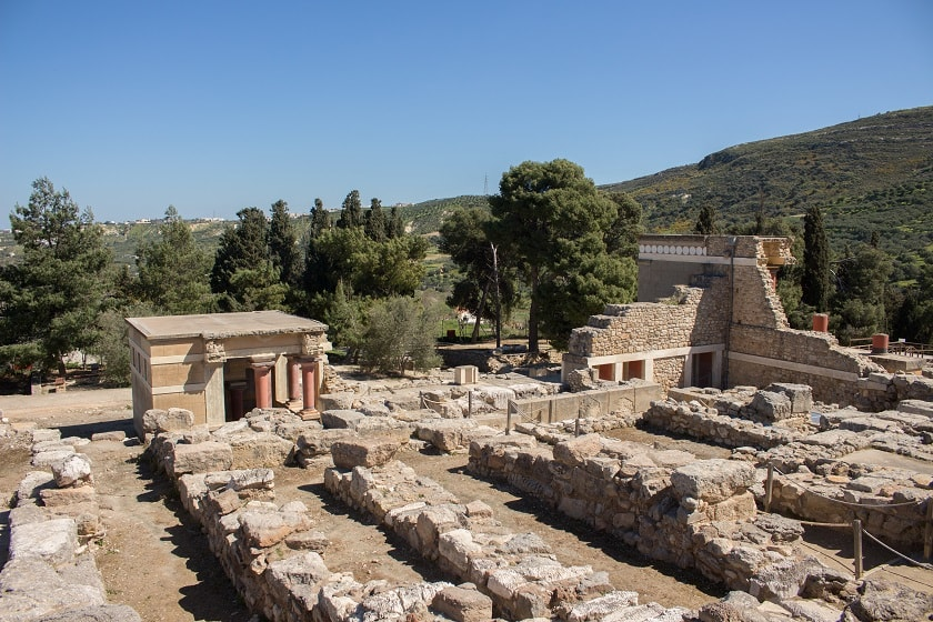 View of Knossos