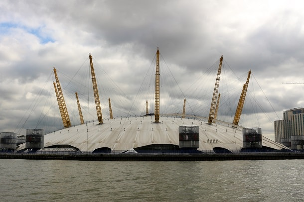 O2 from the Thames