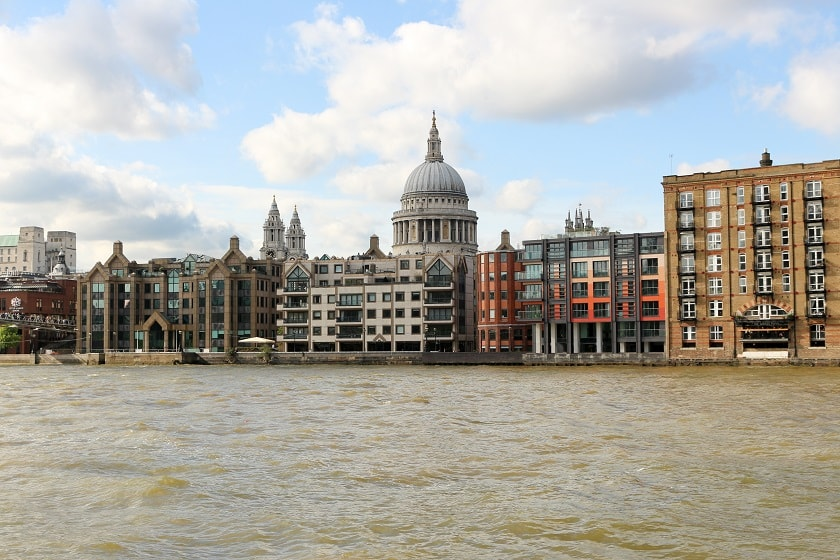 City of London and St. Paul's Cathedral