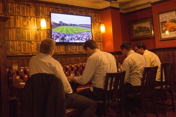 Football and lunch at Lord Raglan