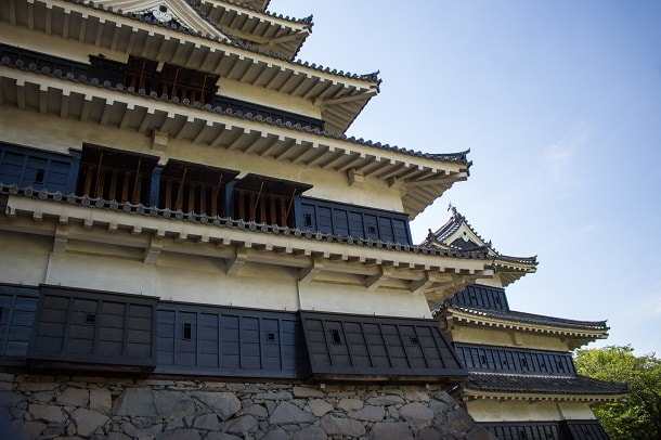 Matsumotojo also known as Crow Castle due to the black colour