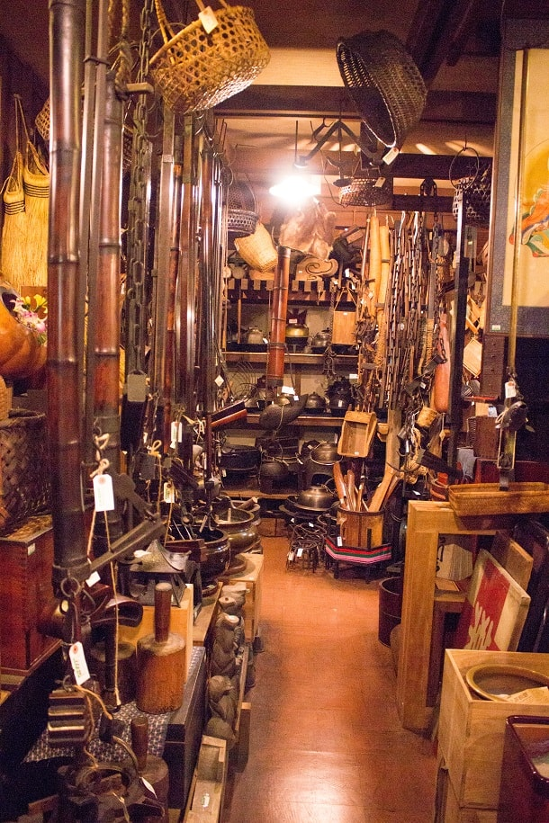 Shop full of wonders in Takayama