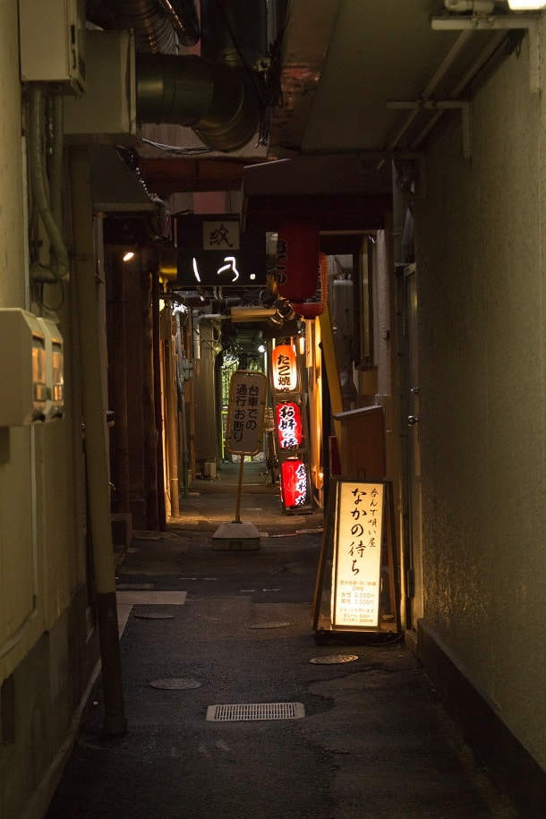 An alley in Ponto-chō