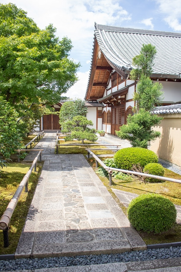 Entrance of Ryogen-in Temple