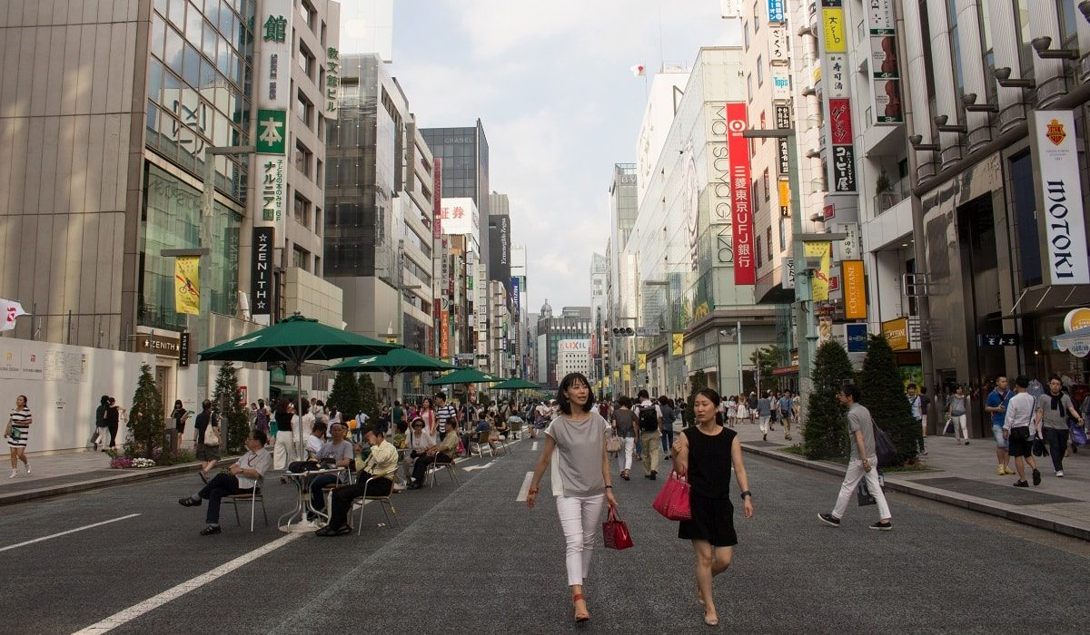 Tokyo 日 2: Car Free Day in Ginza
