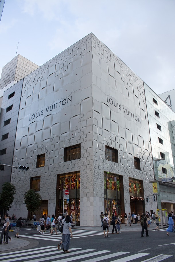 Louis Vuitton in Ginza