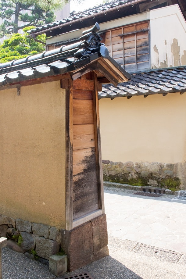 Old wall in Nagamachi