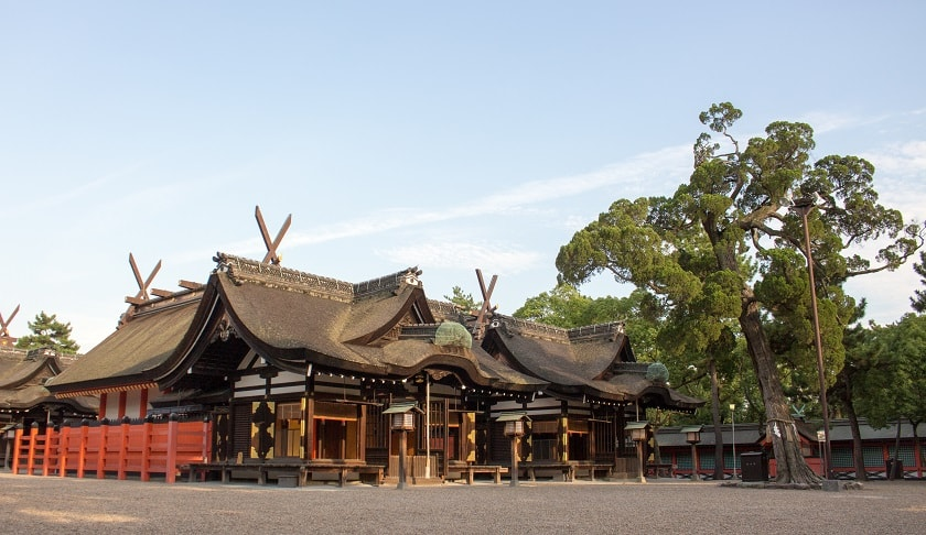 Sumiyoshi Taisha Shrine01