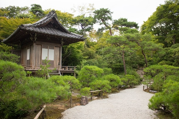 The grounds of Okochi Sanso