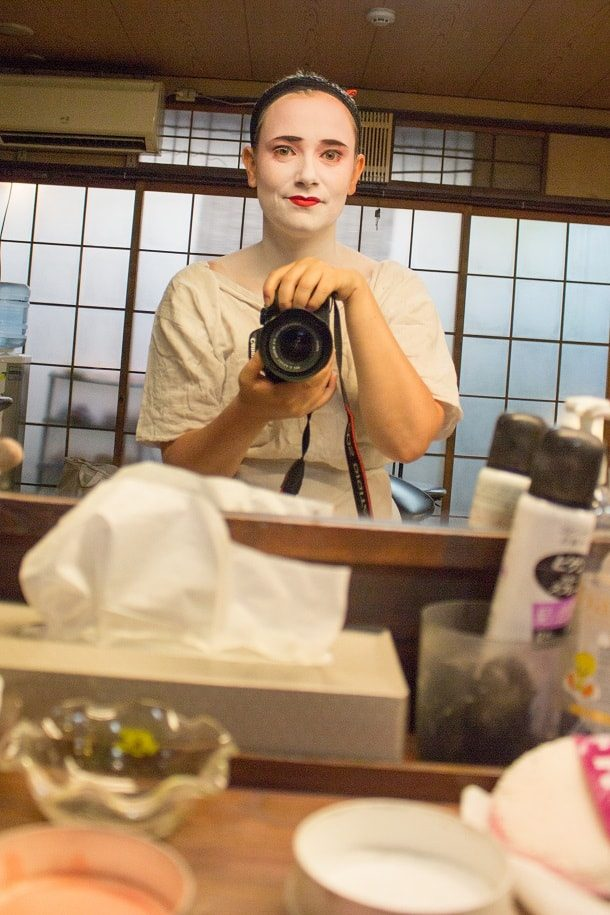Turning into a maiko 05
