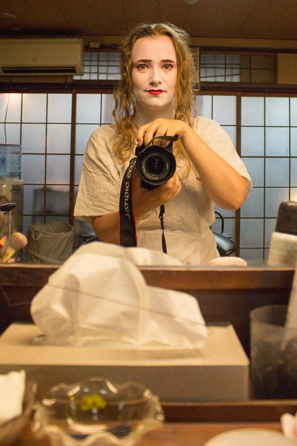 Turning into a maiko 06
