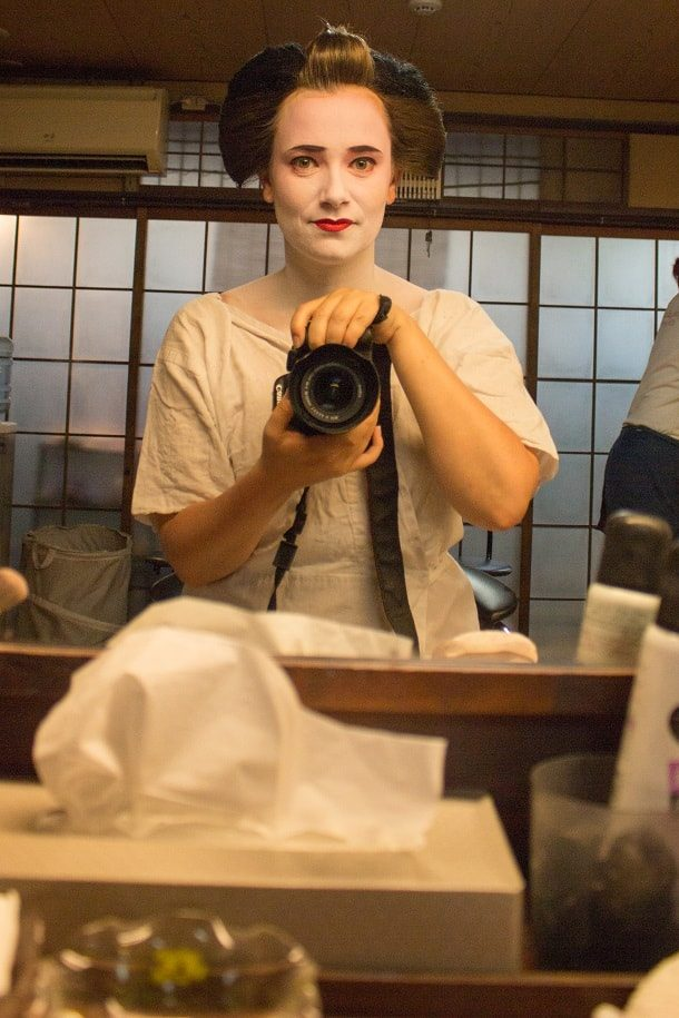 Turning into a maiko 07
