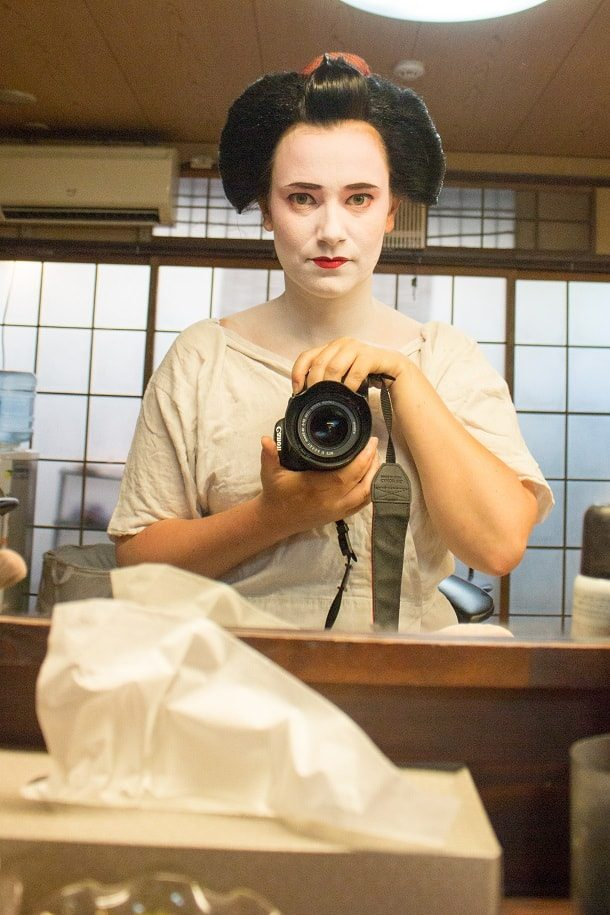 Turning into a maiko 08