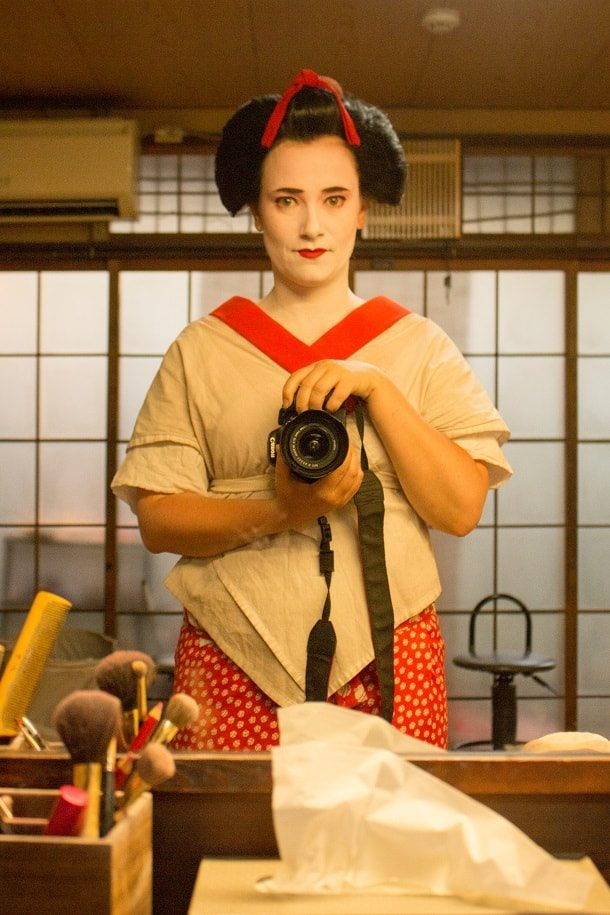 Turning into a maiko 09