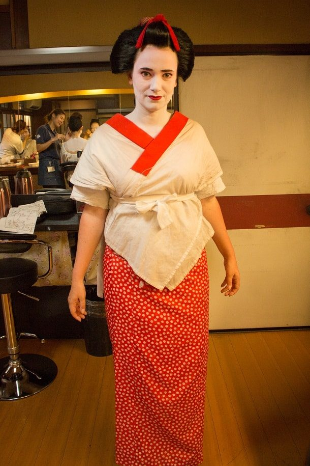 Turning into a maiko 10