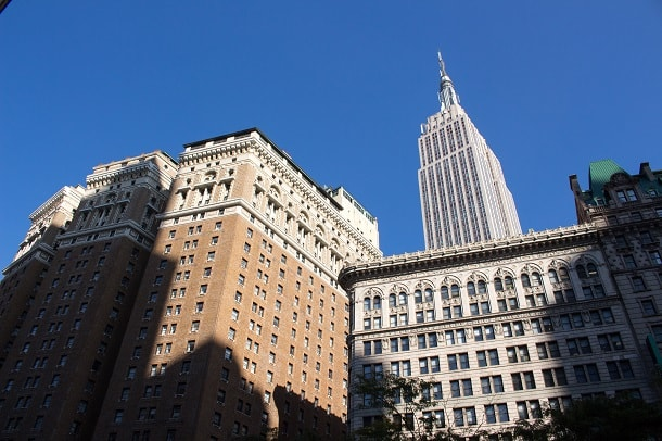 4 Park Avenue and Empire State