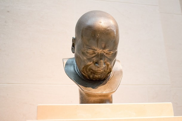 A Hypocrite and a Slanderer by Franz Xavier Messerschmidt