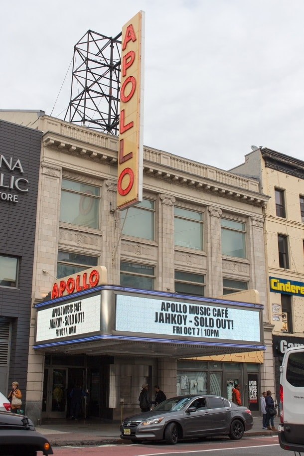 Apollo Theatre on 125th Street